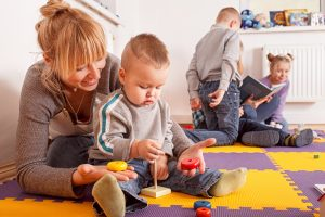 Childminder provides childcare for children of all ages