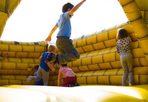 Children Bounce House Activity