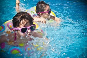 Children Swimming Activity
